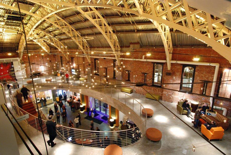 Le théâtre Gerding Armory certifié LEED Platine à Portland. (Marie-Claude Lortie, La Presse)
