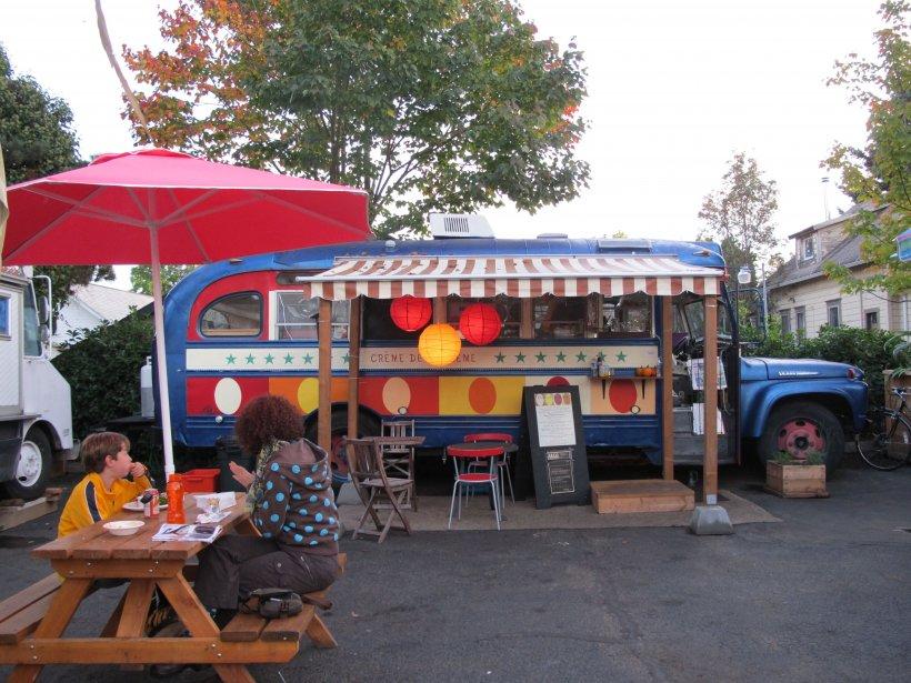 Cuisine de rue à Portland (Marie-Claude Lortie, La Presse)
