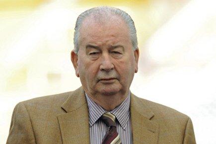 Le président de la Fédération argentine de football,... (Photo: AFP)
