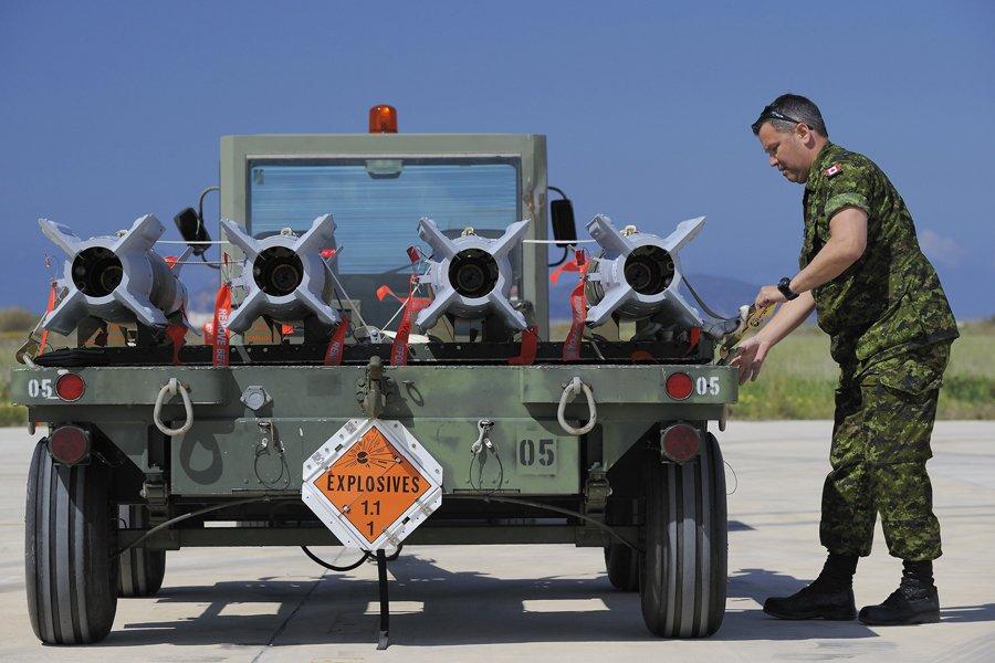Des 3100 sorties de l'OTAN pour effectuer des... (Photo: archives Reuters)