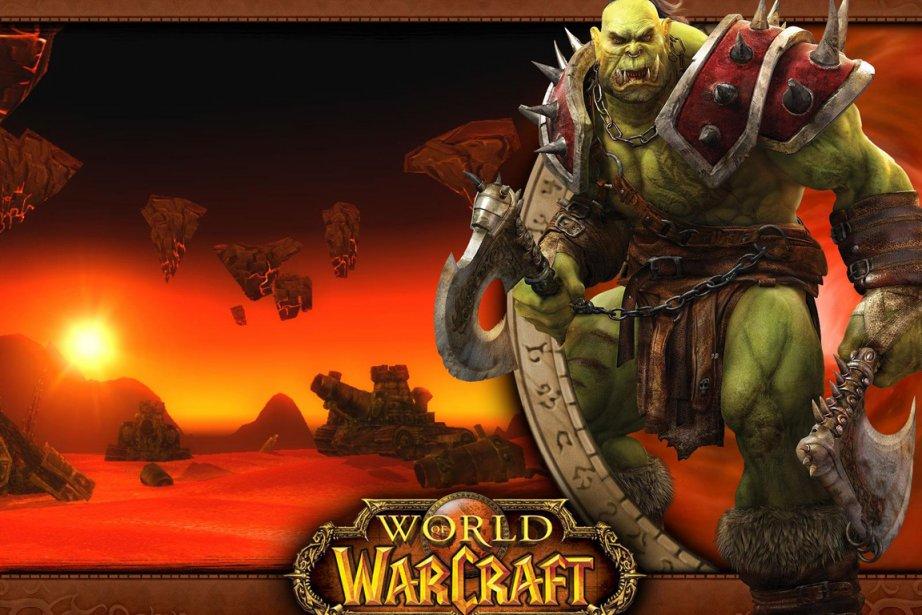 Les jeux vidéo violents rendent... (Photo fournie par World of Warcraft)