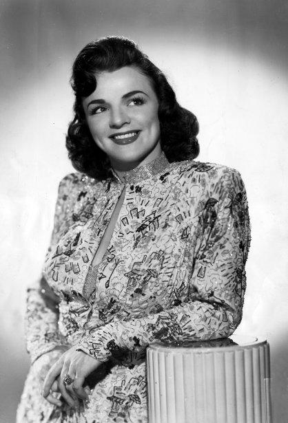 Alys Robi dans les années 1940. (Photo: Archives La Presse)