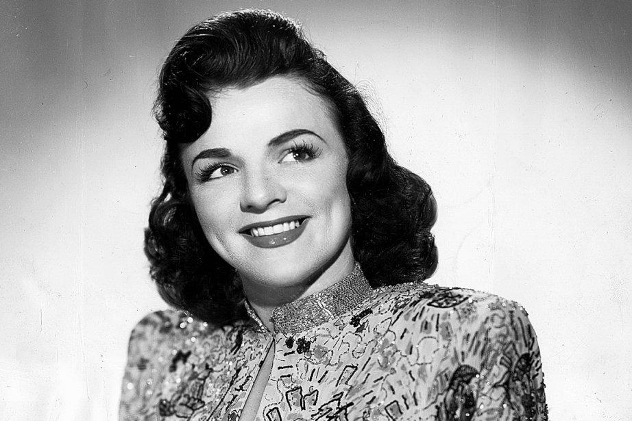 Alys Robi dans les années 40, alors qu'elle... (Archives Le Soleil)