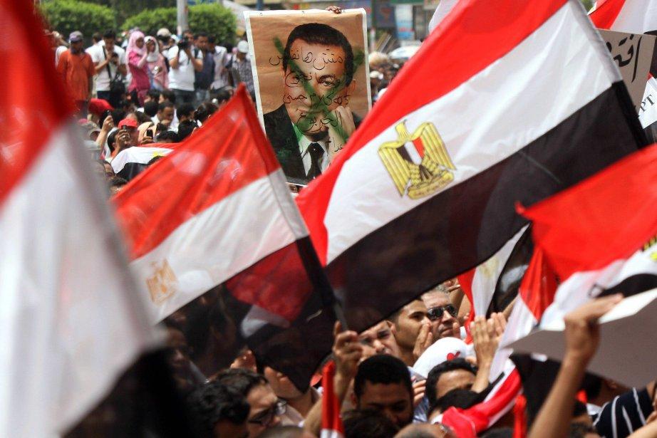 Le ministre égyptien de l'Intérieur, Mansour Issaoui, a... (PHOTO: KHALED DESOUKI, ARCHIVES AFP)