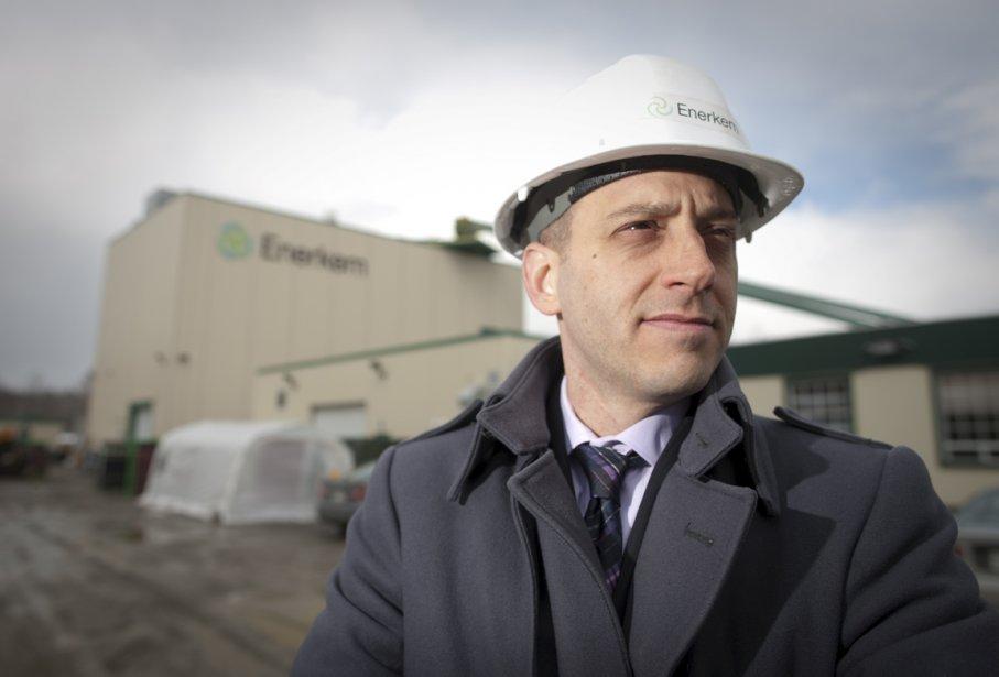 Vincent Chornet, président d'Enerkem.... (Photo André Pichette, La Presse)
