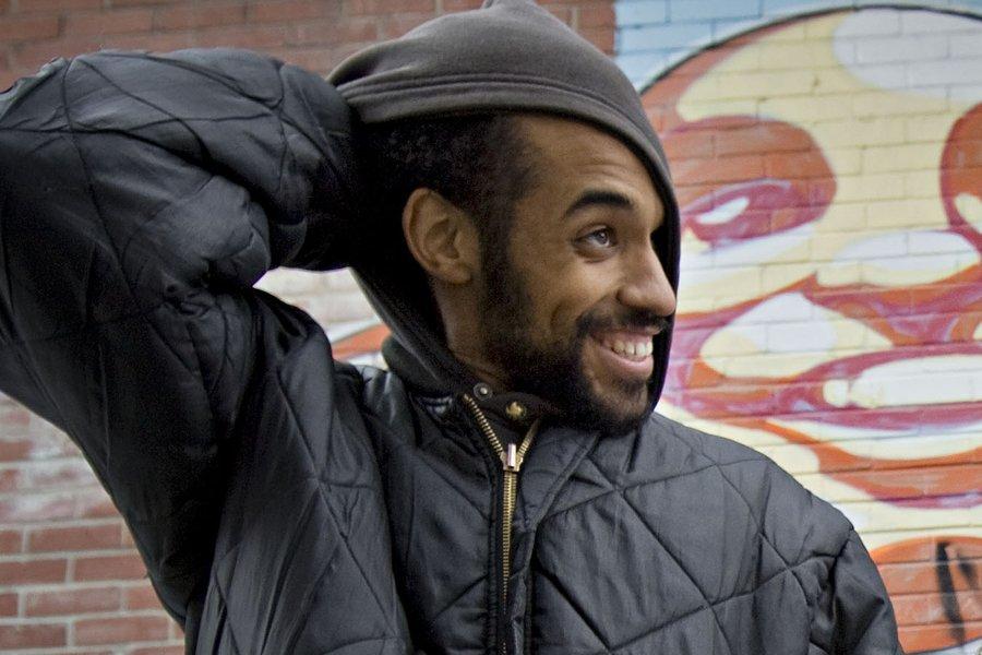 Le beatmaker KenLo... (Photo: Patrick Sanfaçon, La Presse)