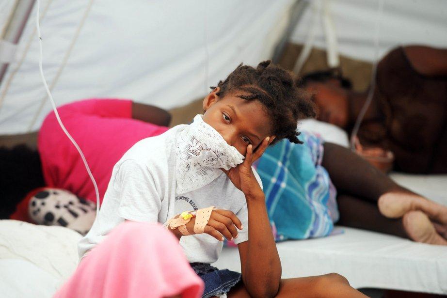L'épidémie de choléra en Haïti a tué 5332... (Photo: Thony Bélizaire, Archives AFP)