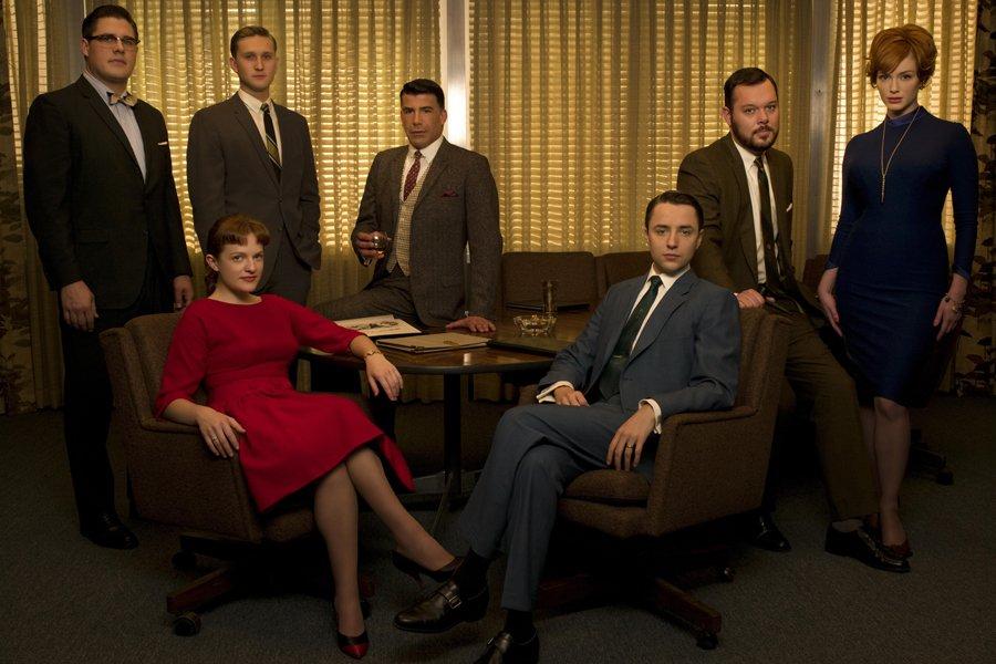 Les personnages de la série Mad Men.... (Photo fournie par Télé-Québec)