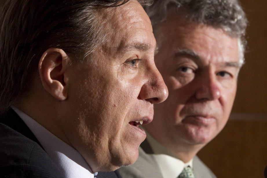 Le chef de la Coalition pour l'avenir du... (Photo: André Pichette, La Presse)