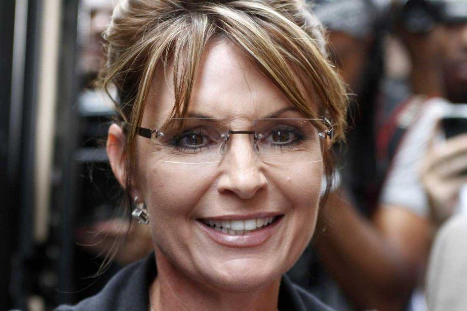 Sarah Palin dans les rues de New York.... (Photo Reuters)