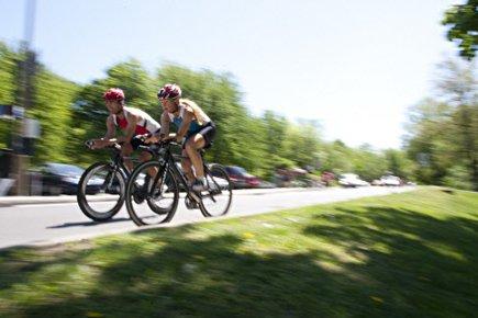 L'Ironman est une épreuve d'endurance combinant 3,8 kilomètres... (Photo: François Roy, La Presse)