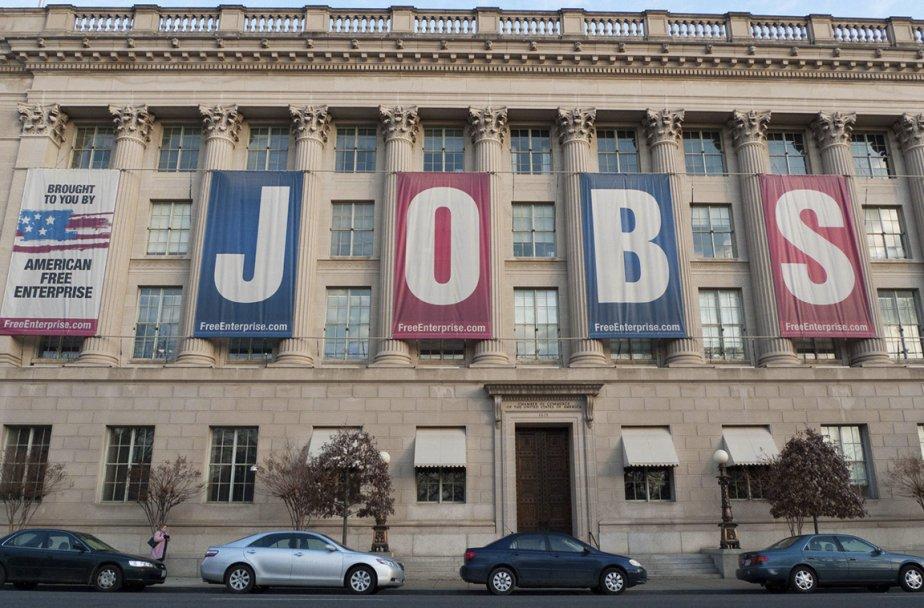 Le moral des petites entreprises a reculé aux États-Unis pour le... (Photo AFP)