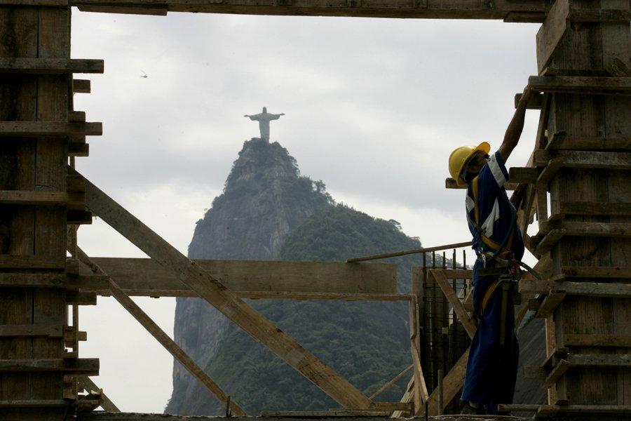 La Ville de Rio a fait raser nombre... (Photo: Reuters)