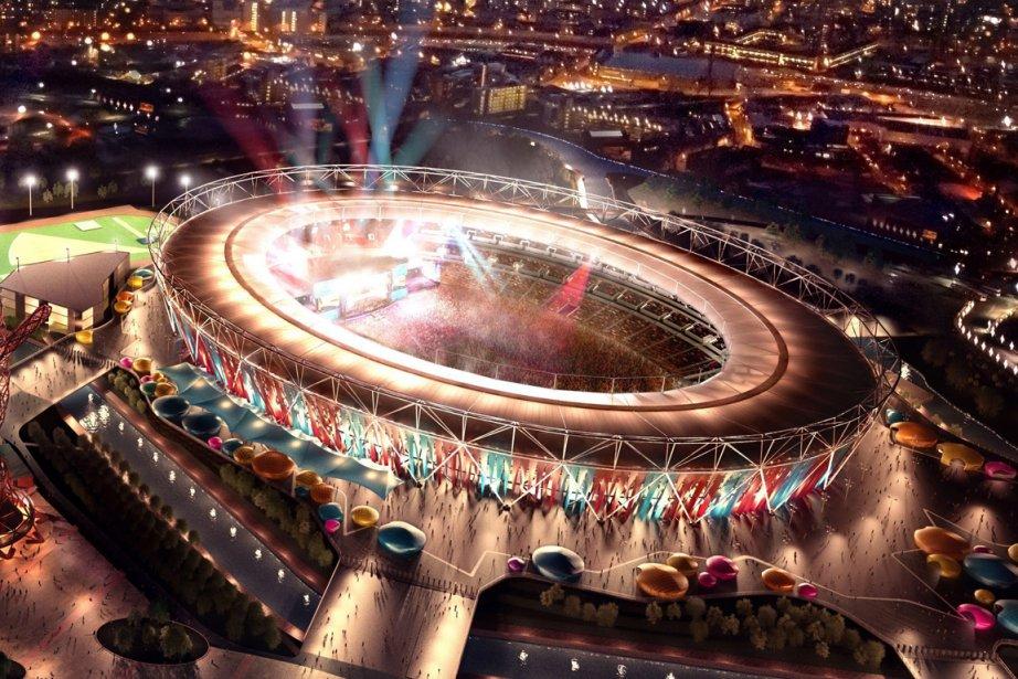 Le stade olympique de Londres... (Photo: AFP)