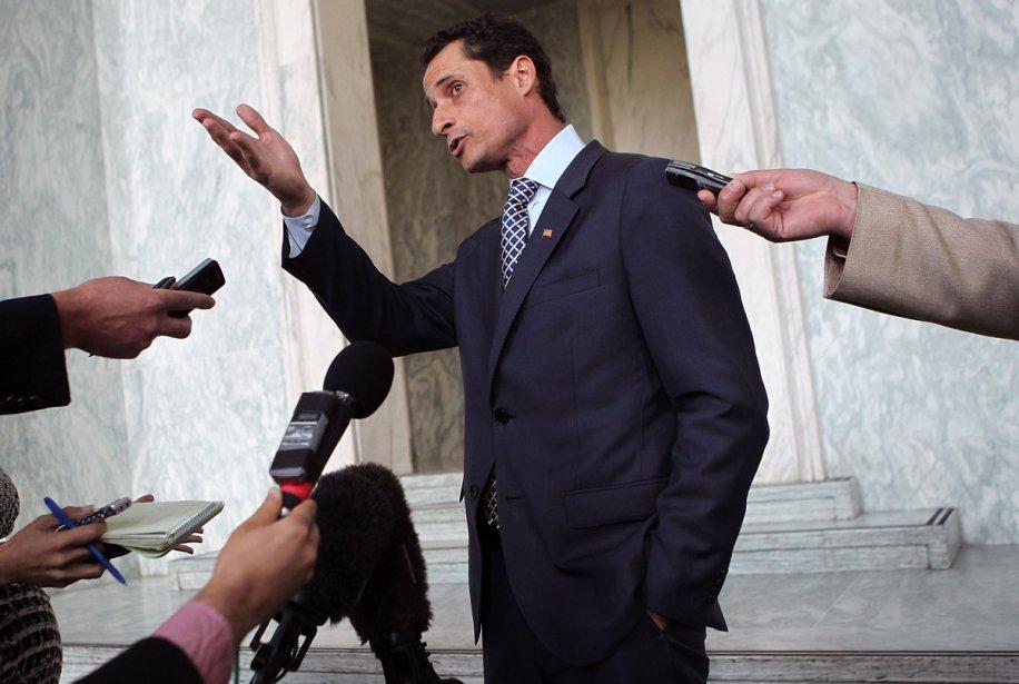Le représentant démocrate Anthony Weiner... (Photo: AFP)