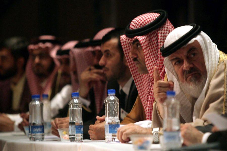 Les opposants syriens se sont réunis en congrès... (Photo: AFP)