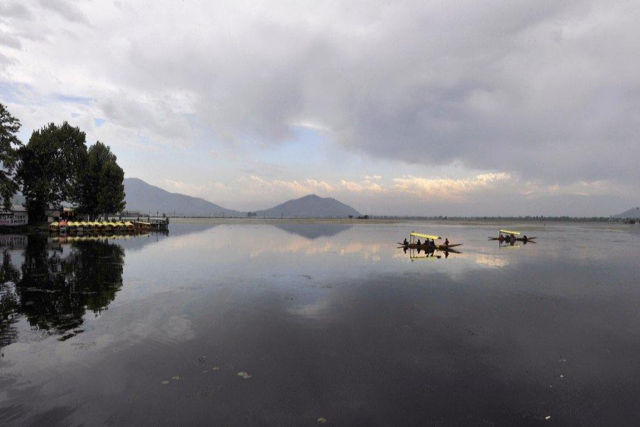 Quel est le prix d'un lac? Des scientifiques... (Photo: Tauseef Mustafa, AFP)