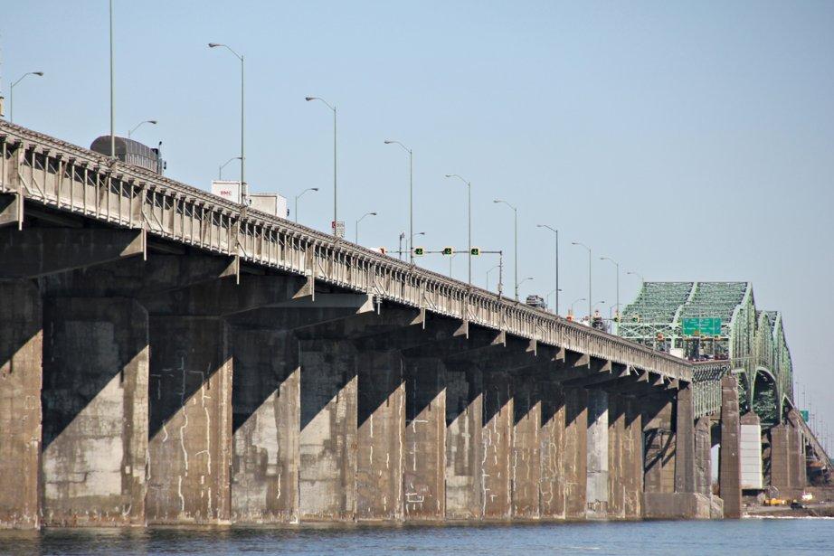 Le pont Champlain.... (Photo: François Roy, La Presse)