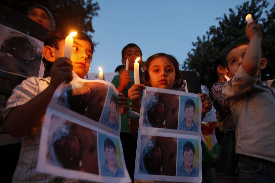 Récemment, un garçon de 13 ans, Hamzeh al-Khatib,... (Photo: Reuters)
