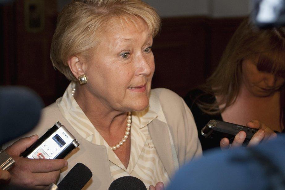 La chef du Parti québécois, Pauline Marois.... (Photo: Jacques Boissinot, Archives PC)