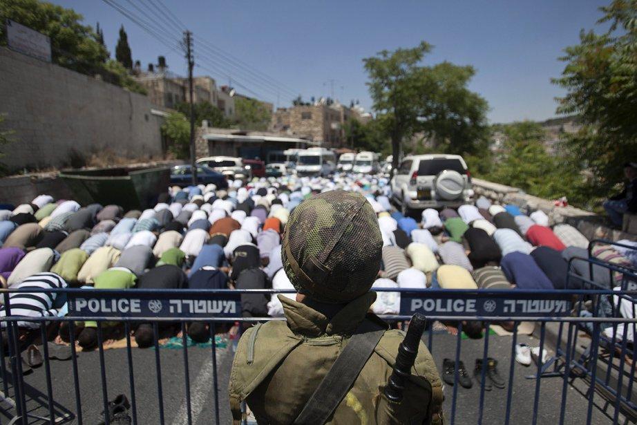 La police israélienne a de nouveau limité ... (Photo: AP)