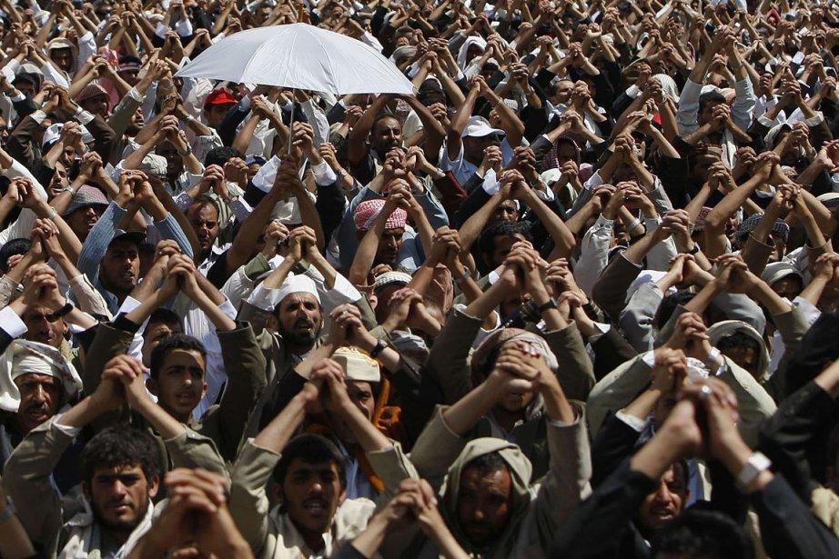 Le président Ali Abdallah Saleh a été blessé... (Photo: Reuters)
