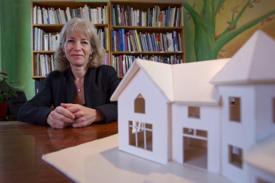 L'architecte Maryse Leduc.... (Photo: Ivanoh Demers, La Presse)