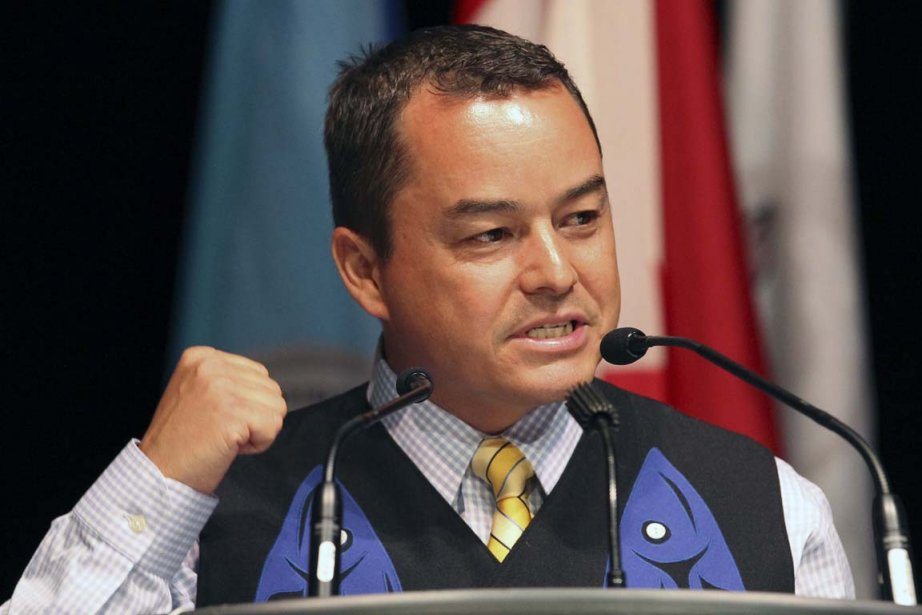 Le chef de l'assemblée des Premières Nations, Shawn... (PHOTO PC)