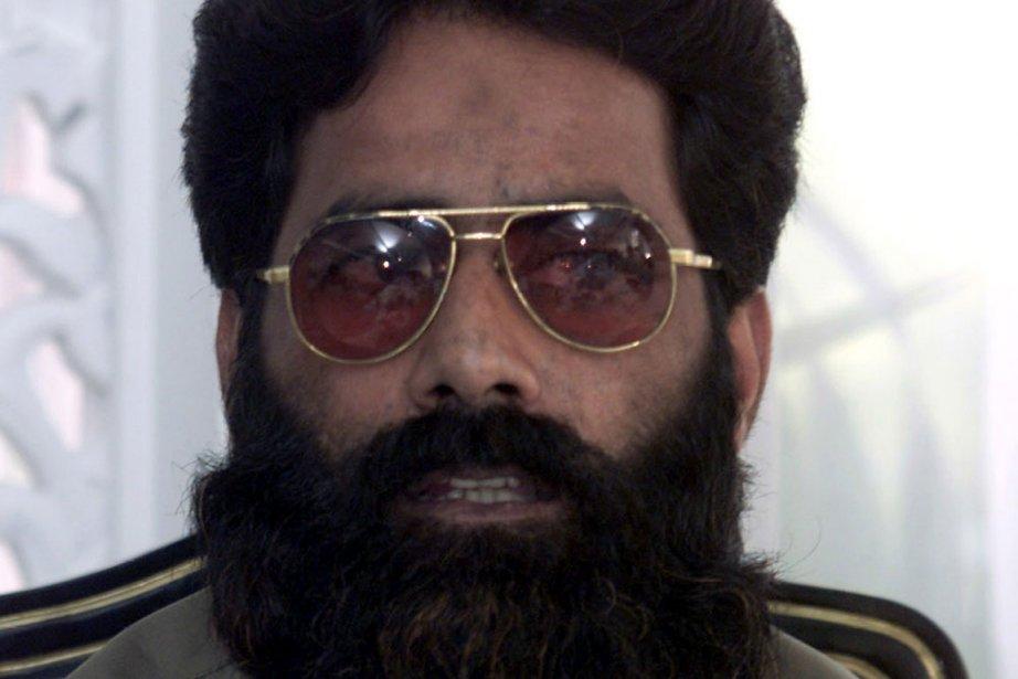 Mohammad Ilyas Kashmiri, dont la tête était mise... (Photo: Reuters)