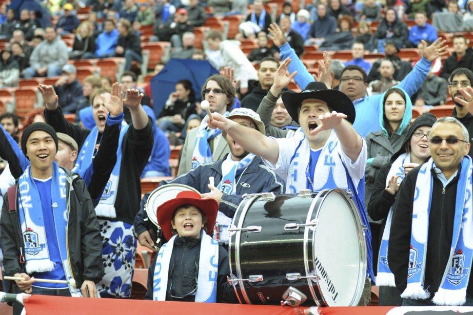 Les partisans du Edmonton FC ont de quoi... (Photo: PC)