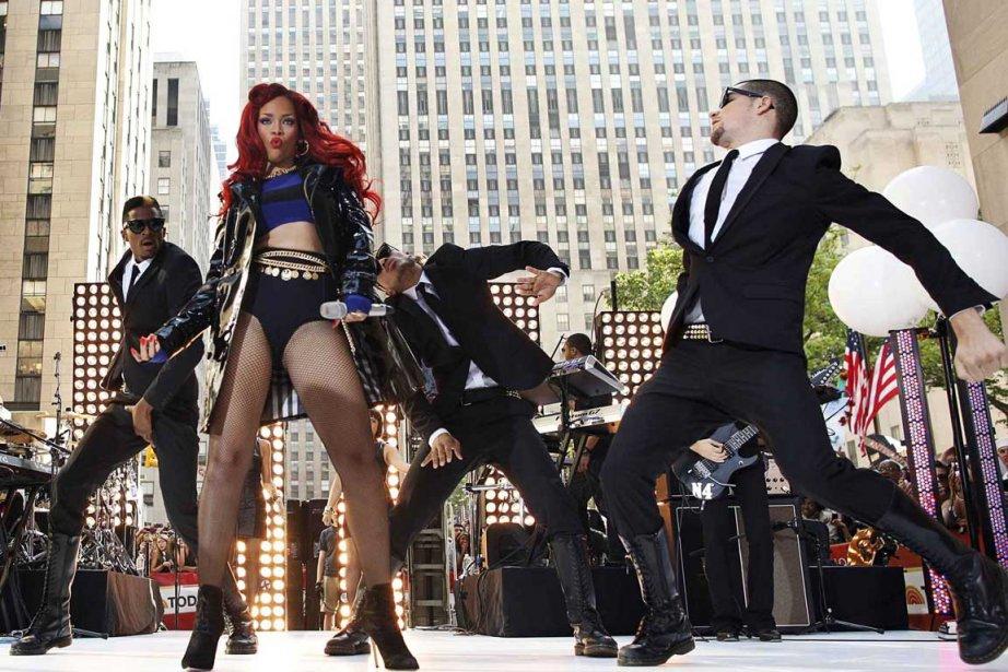 Rihanna, 23 ans, n'a pas peur d'offenser les... (Photo Reuters)