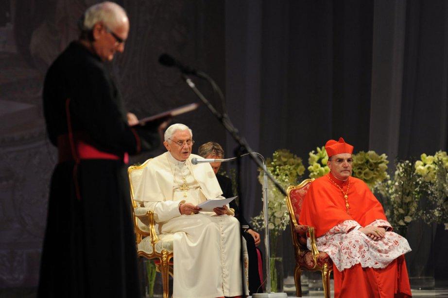 Joseph Ratzinger a préconisé la construction d'une «polis»... (Photo: AFP)