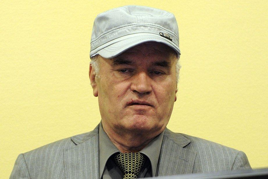 Ratko Mladic, arrêté le 26 mai en Serbie... (Photo: AFP)