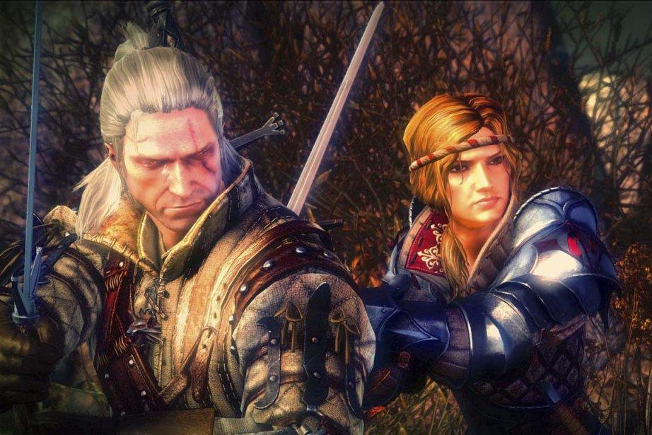 Image tirée du jeu The Witcher 2: Assassins... (Photo fournie par Atari)