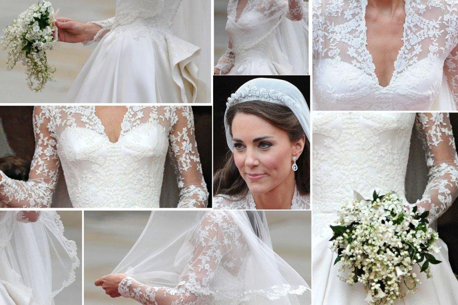 La robe de mariage de Kate exposée au public  Royaume-Uni