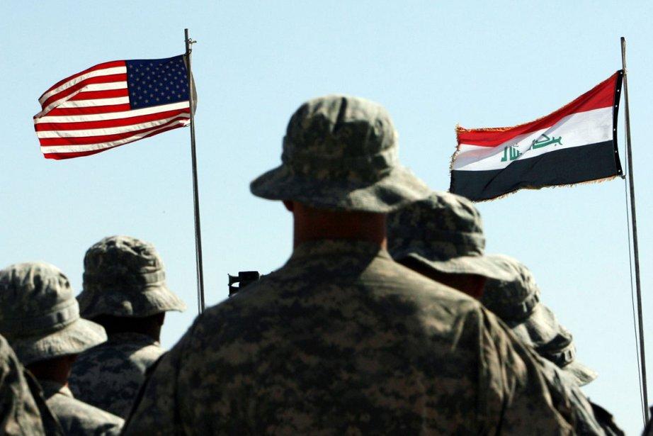 Les formateurs militaires américains appelés à rester en Irak... (Photo: AFP)