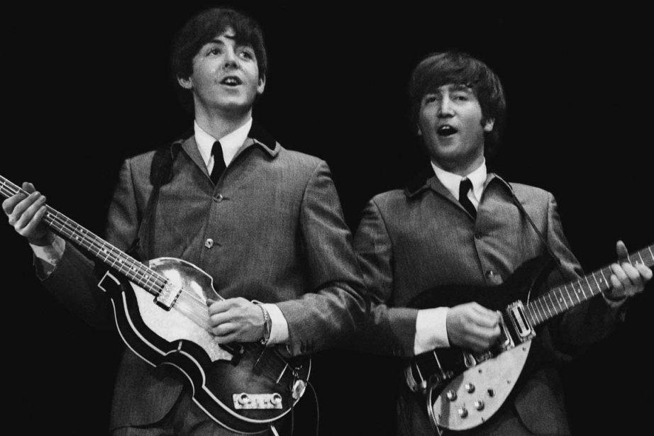 Paul McCartney et John Lennon.... (Photo AP)