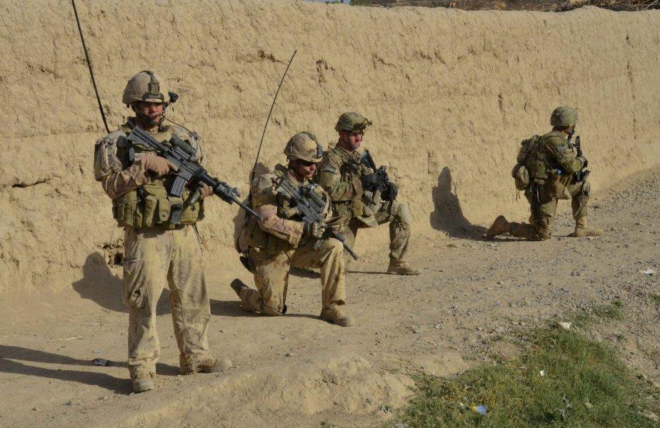 Le Canada est devenu une puissance militaire et... (PHOTO: MURRAY BREWSTER, PC)