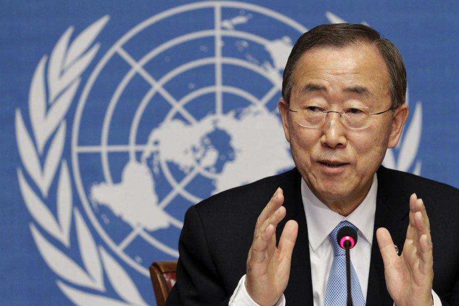 Ban Ki-moon a été raillé pour son manque... (Photo: Denis Balibouse, Reuters)