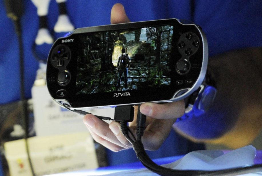 La PlayStation Vita... (Photo: AP)