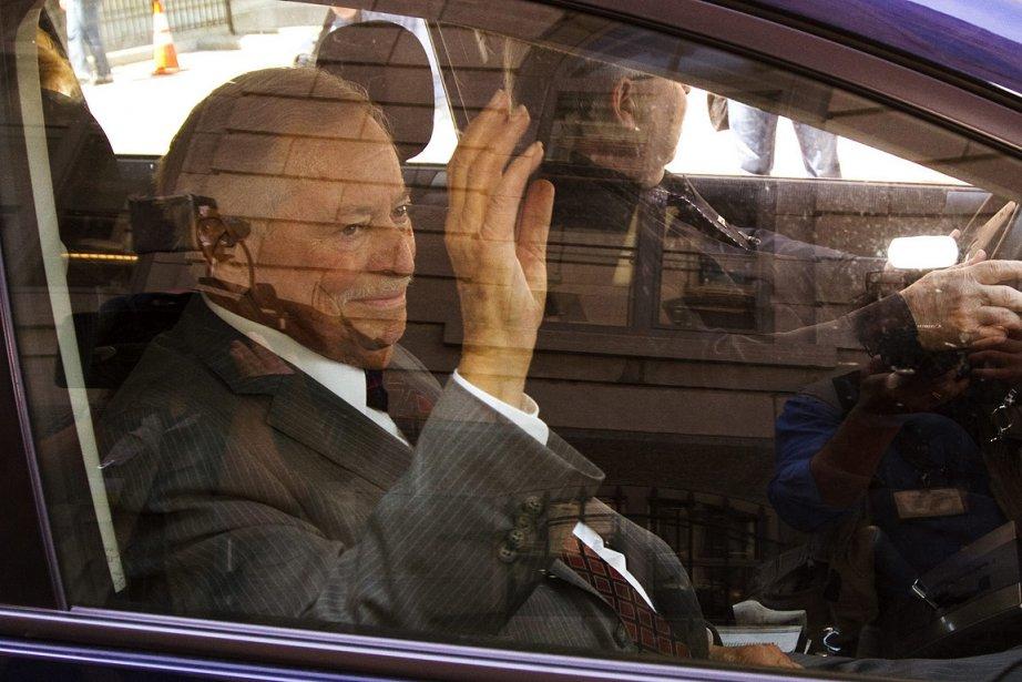 Jacques Parizeau, photographié le 6 juin. Il accompagnait... (Photo: PC)