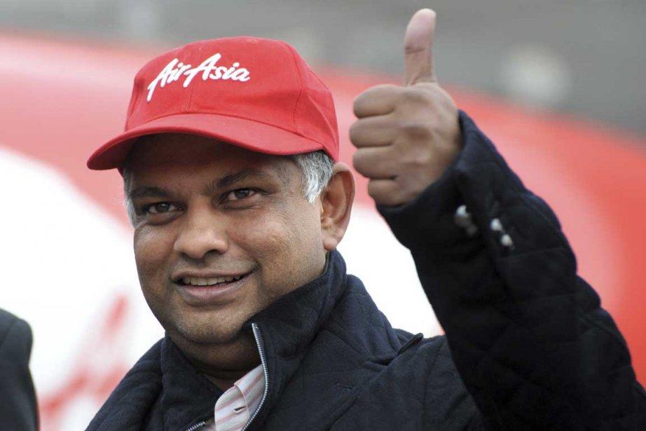 Le grand patron d'AirAsia, Tony Fernandes (notre photo),... (Photo AFP)