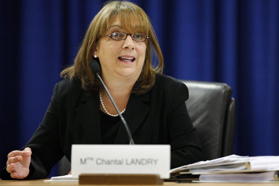 Chantale Landry, la «madame Post-it» de la commission... (Photo: Mathieu Bélanger, Archives Reuters)