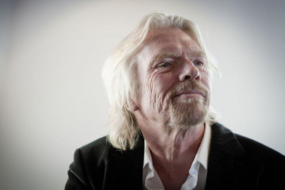 Sir Richard Branson.... (Photo: Marco Campanozzi, La Presse)