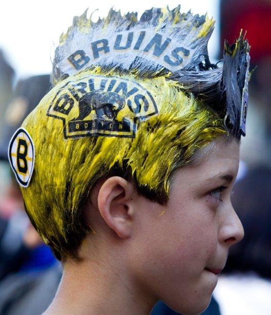 Même si le match est à Vancouver, les Bruins avaient des appuis. (Photo PC)