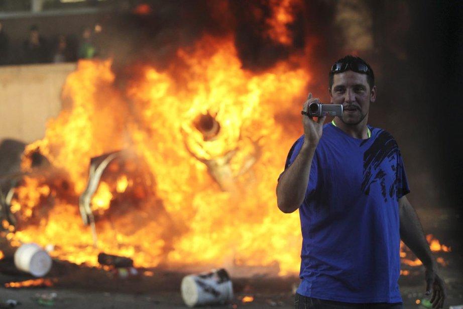 Selon la Couronne, tous les émeutiers sont coupables... (Photo: Anthony Bolante, Reuters)