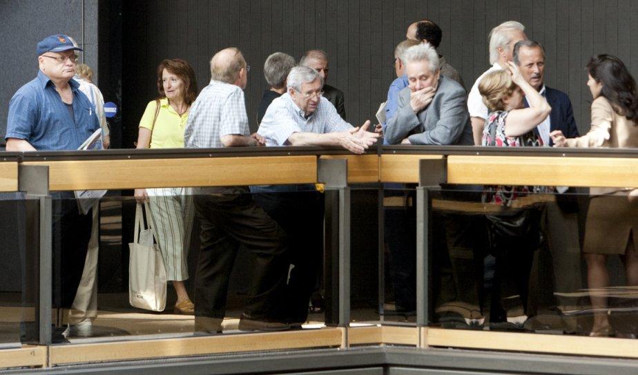 Des investisseurs floués dans l'affaire MountRealau Palais de... (Photo David Boily, La Presse)