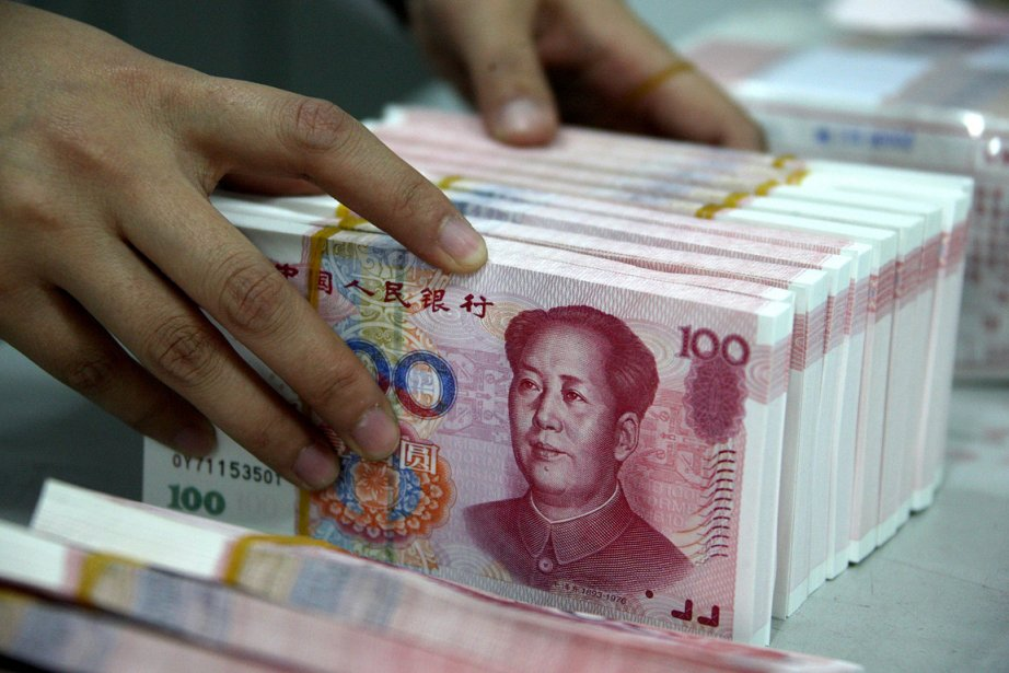 Les pots-de-vin reçus par des responsables chinois totalisent... (Photo: AFP)