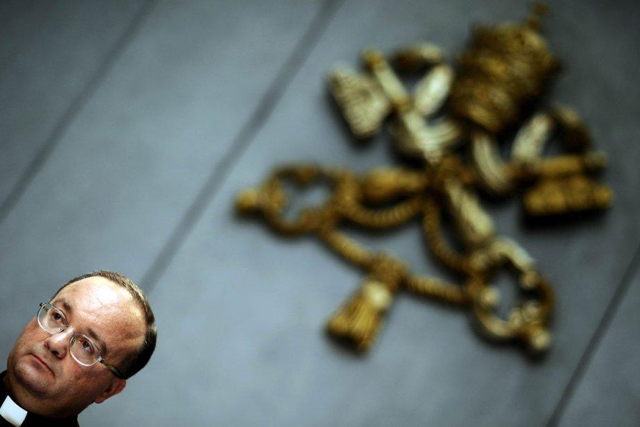Mgr Scicluna, homme clé du Vatican chargé d'instruire... (Photo: AFP)