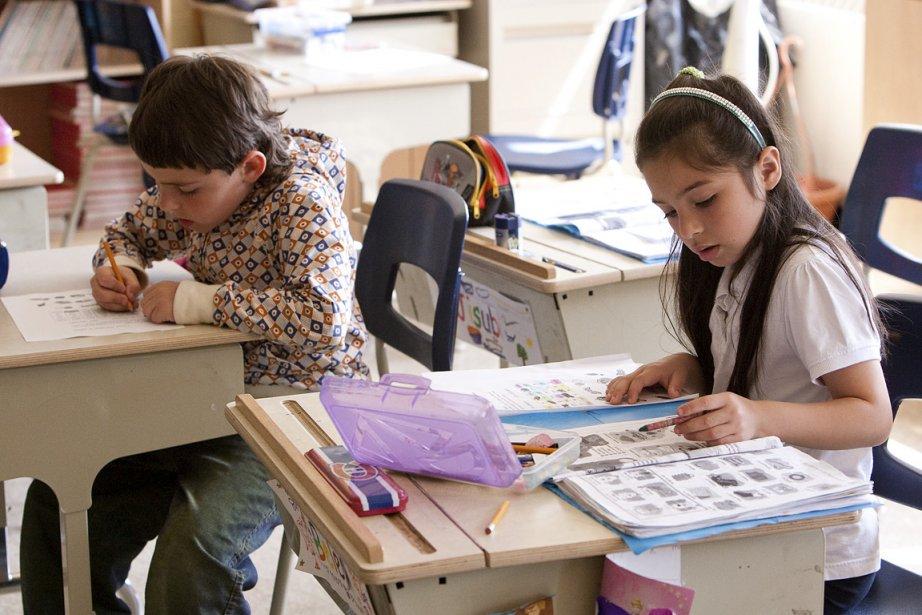 Le ministère de l'Éducation calcule qu'un élève du... (Photo: Hugo-Sébastien Aubert, La Presse)